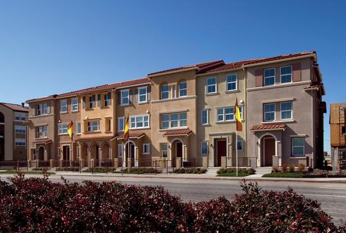 Townhomes mission place rivermark area santa clara for Clara house