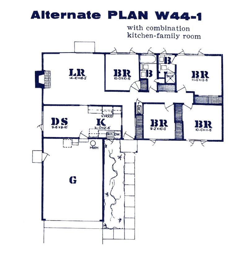 westwood oaks floor plan 4 bedroom