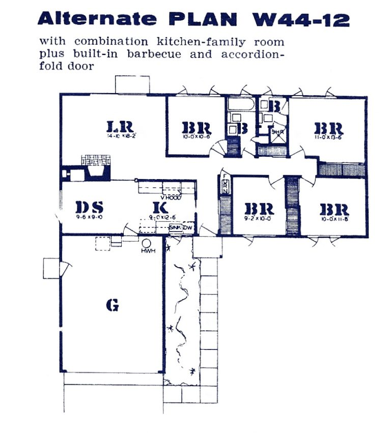 Westwood Oaks floor plan